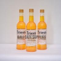 Trieste Passion Fruit Syrup 650ml sirup rasa buah markisa