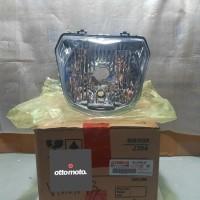 Reflektor Lampu Depan Headlamp New Vixion NVL 2013 Original Yamaha