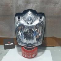 Reflektor Lampu Depan Headlamp Assy New scorpio Z 2010 Original Yamaha