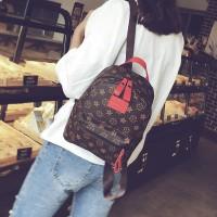 Tas ransel back pack wanita model korea bahan import TC018 murah