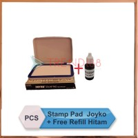 Bak   Bantal Stempel Stamp Pad No. 0 Joyko + FREE REFILL