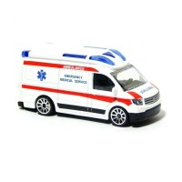Majorette International SOS - VW Crafter Ambulance - White