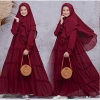 gamis anak baju muslim anak perempuan syari kid gamis lebaran murah