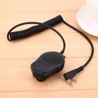 Dual PTT Speaker Mikrofon Genggam untuk Baofeng UV-82 uv-82l gt-5