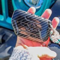 Cover Pelindung Kunci Fob Untuk Jeep Wrangler Jzu 2018-2020 Jeep