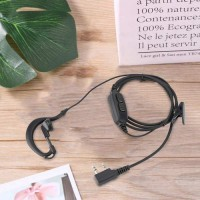 Dual PTT Headset Earpiece with Mic For Baofeng UV-82 UV 82 UV82L
