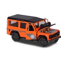 Majorette Deluxe Asst - Landrover Orange