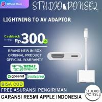 Apple Lightning to Digital AV Converter Cable Aksesoris Original MD826