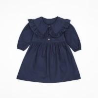 Cila Navy - Dress Anak