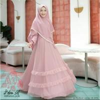 gamis anak perempuan busana muslim baju lebaran terbaru terlaris murah