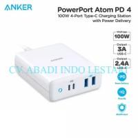 ANKER A2041 - PowerPort Atom PD4 - 2 USB-A and 2 USB-C Port CV.AIL