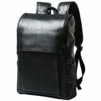HERALD Tas Ransel Kulit Vintage Leather Backpack - Coklat