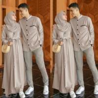 OUTFIT Emon Couple Cp | Baju Pasangan Kondangan Pesta Muslim | Set