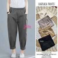 Haruka Baggy Pants Celana Wanita Baggy Pants Bahna Katun Twill Premium