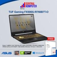 Asus TUF Gaming FX506IU-R766B7T-O R7-4800H GTX1660Ti 8GB 256GB WIN OHS