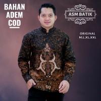 ASM Kemeja Batik Koko Wibisono / Baju Batik Pria Lengan Panjang Modern