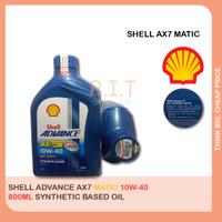 Oli Shell Advance Scooter Matic AX7 10w40 motor matik 800ml
