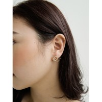 Dear Me - Ester Earring (925 Sterling Silver with 18K Gold Plating) - Gold
