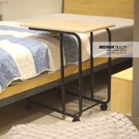 Meja Laptop Atria Georg Multifungtion Bedside Beech – Black