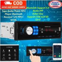 Tape Mobil tip Audio single din Multifungsi MP3 Player Bluetooth