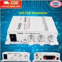 Audio power amplifier mini mobil HiFi Treble Bass Booster subwofer