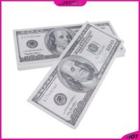 Lovoski2 100pcs Mainan Uang Dollar Us Untuk Properti Sulap
