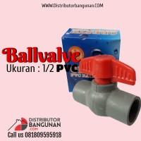 Ballvalve 1/2' Pvc GOLDFISH
