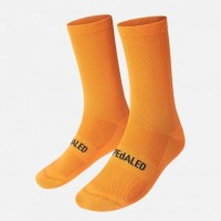 Kaos Kaki Sepeda - PEdALED Mirai Lighweight Cycling Socks - Orange