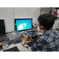 Paket lengkap Mainboard LGA 1155 H61 PROCESSOR G2020 Mobo