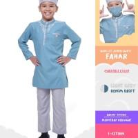 DISKON Baju Koko Anak Kemko Kids Bani Batuta FAHAR Original Rabbani