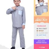 DISKON Baju Koko Anak Kemko Kids Bani Batuta JANU MST Original Rabbani