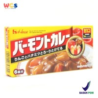 House Foods Vermont Mild Japanese Curry With Apple & Honey 115 gr