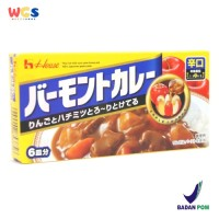 House Foods Vermont Hot Japanese Curry With Apple & Honey 115 gr