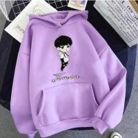 Sweater anak perempuan BTS ANIME sweter baju anak jaket hoodie