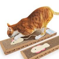 Cat Scratch Pad Board - Mainan Papan Garukan Kucing - scratcher