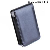 Black PU Leather Case Pou Protective for iPod Classic 6 6th Gen