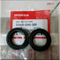 Seal Shock Depan - Sil Shok Depan Honda Grand Supra GN5
