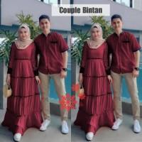 PROMO!! Baju Pasangan Couple Muslim Termurah lebaran 2021 Vs cp bintan