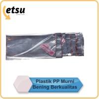 Plastik PP bening MURNI Kiloan | 1 kg | Plastic Laundry | Plastik Baju