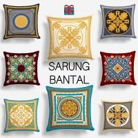 COVER SARUNG Bantal Sofa Motif Luxury 40x40 cm - Pusat Kado Murah