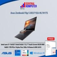 Asus Zenbook Flip S UX371EA-HL701TS-i7-1165G7-16GB-1TB SSD-W10H-OHS19