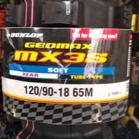 Ban Dunlop MX 3S 120 90 - 18 SOFT TRAIL TUBETYPE REAR