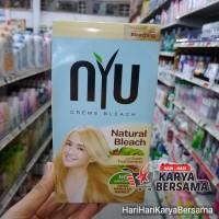 NYU HAIR COLOUR NATURAL BLEACH PEWARNA RAMBUT 30ML
