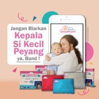 Distributor Bantal Bayi Anti Peyang Baby Cloudfoam Free Bonus