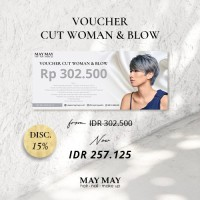 Voucher Female Haircut - May May Salon
