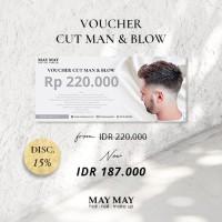 Voucher Male Haircut - May May Salon