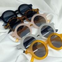 Kacamata Fashion Anak Bulat - Aksesoris Kacamata Anak Bayi Cewe Cowo