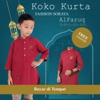 Baju Koko Kurta AlFaruq Couple Ayah Anak Laki KAPEL Baru