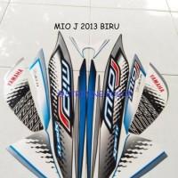 Striping Lis Stiker Motor Yamaha Mio J Sporty 2013 Biru