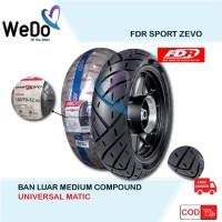 FDR 130/70-12 Sport Zevo Ban Tubeless Motor New Scoopy Vespa Ring 12